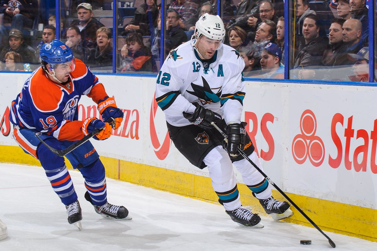 The Sharks probably won't be facing the Oilers in the playoffs this year.