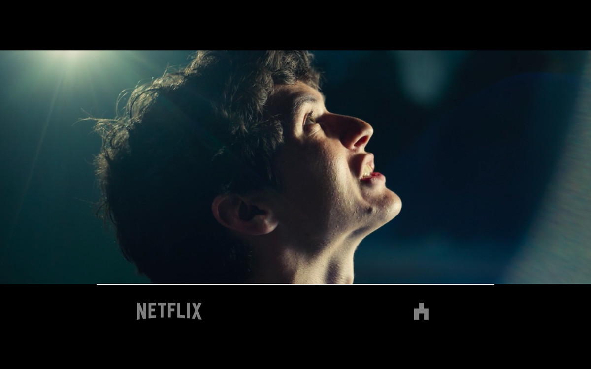 Using clicks or taps, you navigate your way through the choices in Black Mirror: Bandersnatch.