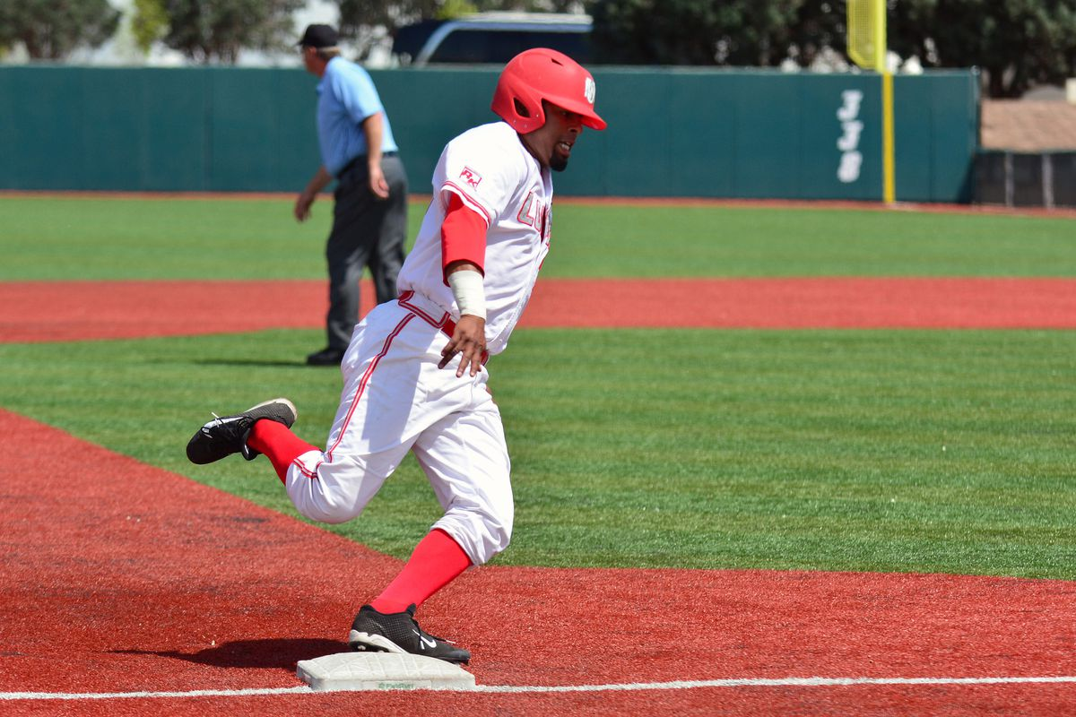 Andre Vigil is one of the best freshman hitters in the MWC