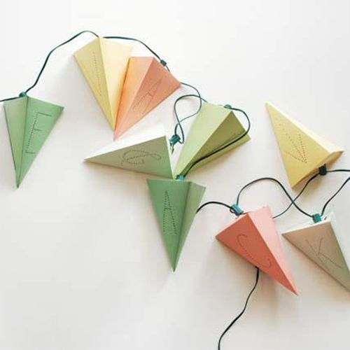 personalized pyramids string lights