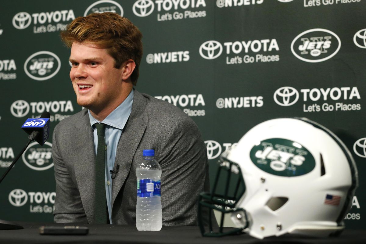Ny Jets Podcast Interview With Sam Darnold Gang Green Nation
