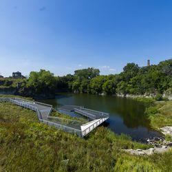 Palmisano Park is a 27-acre nature park in Bridgeport.   Tyler LaRiviere/Sun-Times