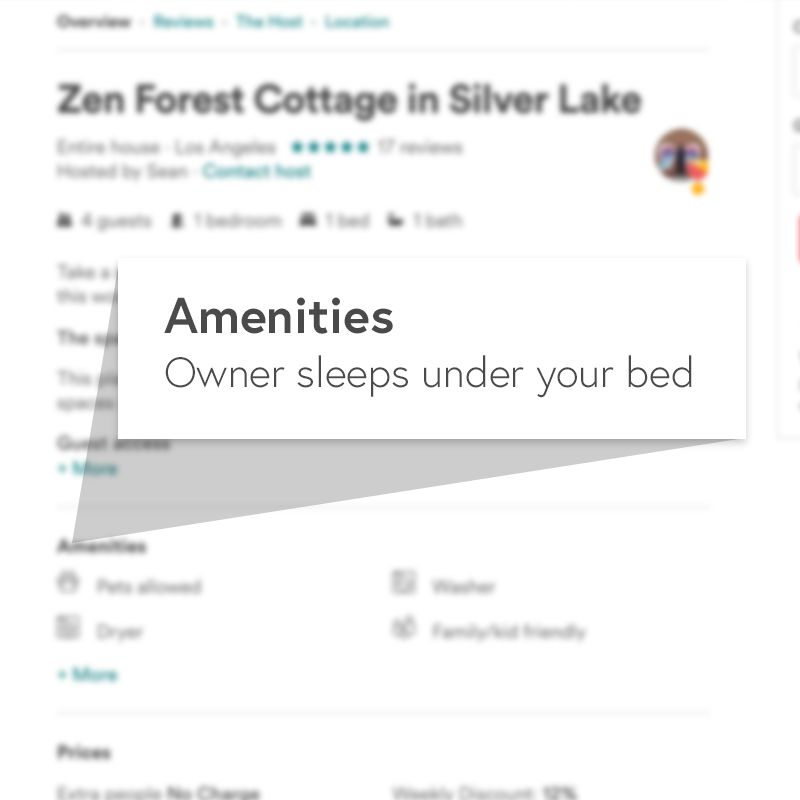 The 10 Worst Amenities Ever Listed on Airbnb - Funny Or Die
