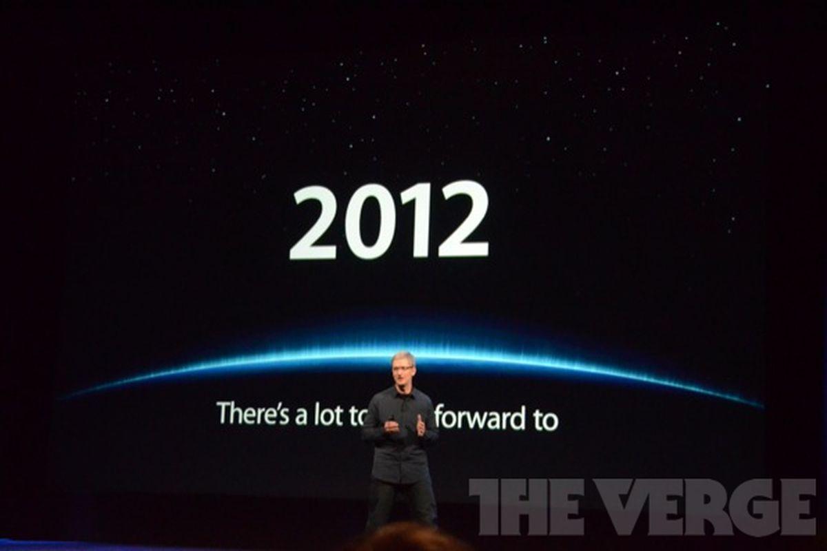 Gallery Photo: New iPad announcement photos