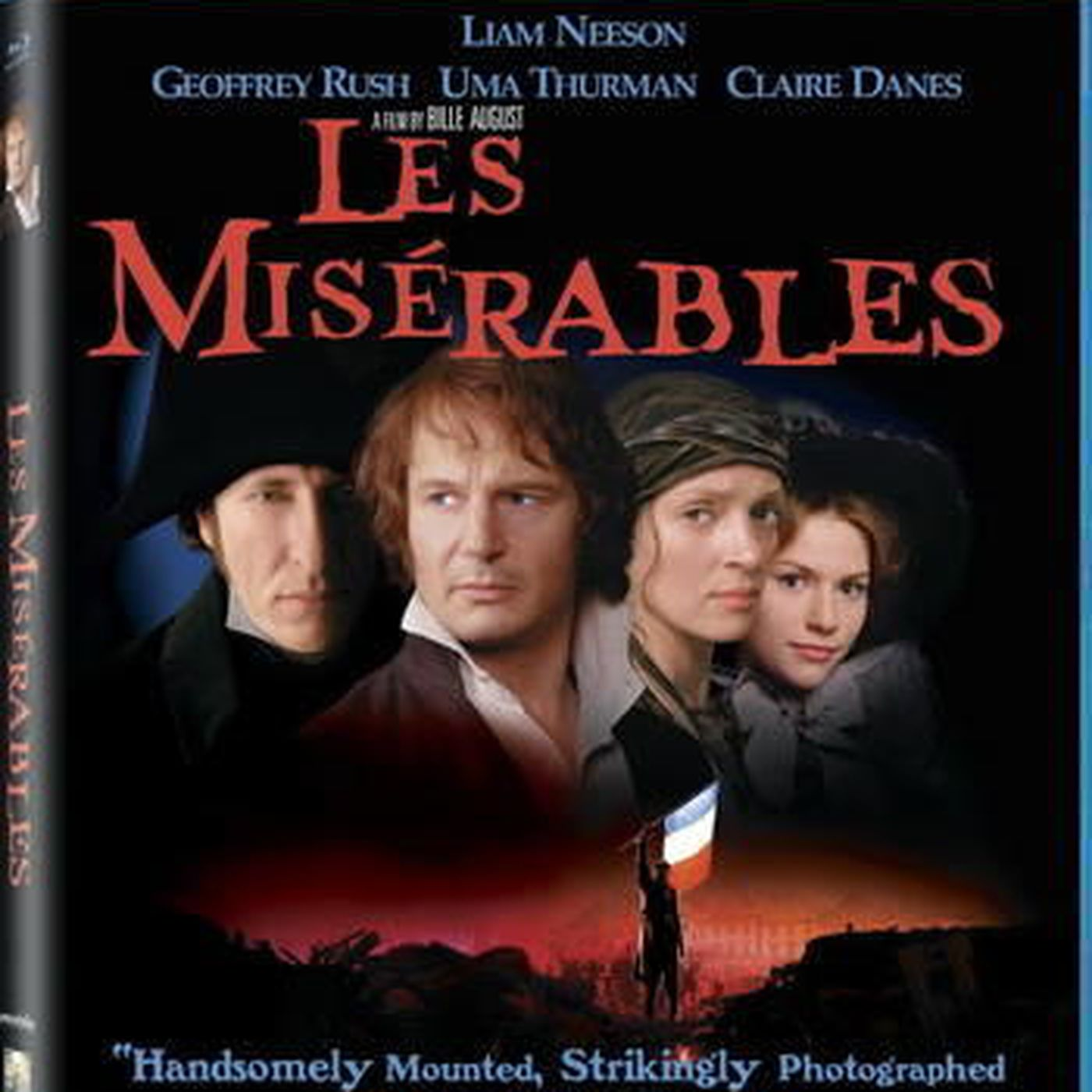 Chris Hicks Liam Neeson S Version Of The Oft Filmed Les Miserables Gets A Blu Ray Upgrade Deseret News