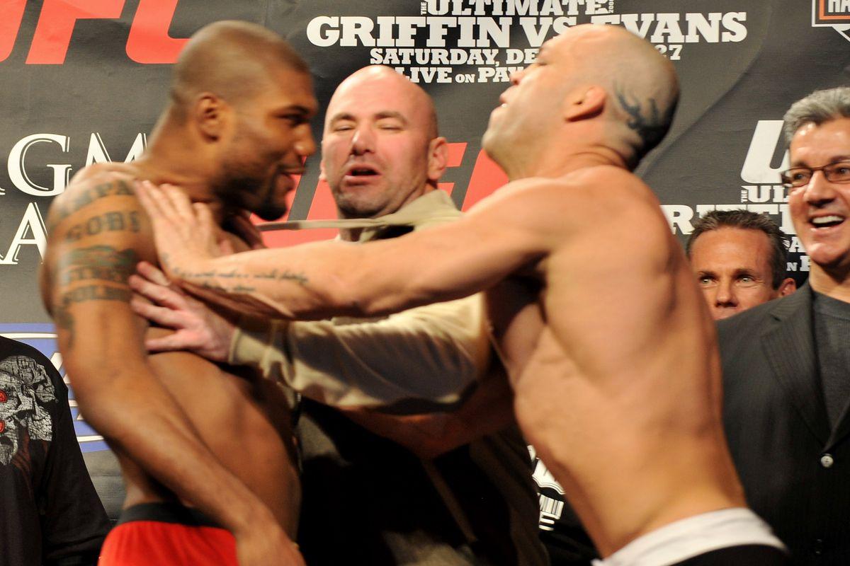 UFC 92 Weigh-In