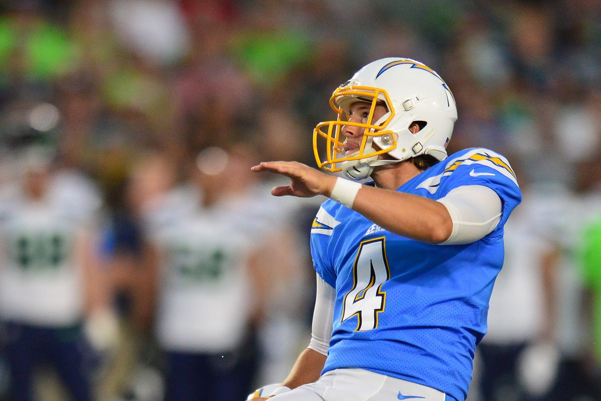 Chargers Kicker Michael Badgley Has Been Ruled Out For Week 1 Bolts From The Blue