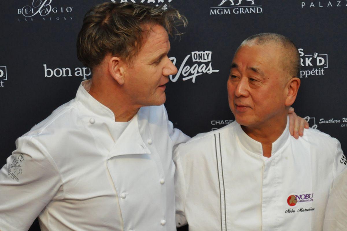 Gordon Ramsay and Nobu Matsuhisa
