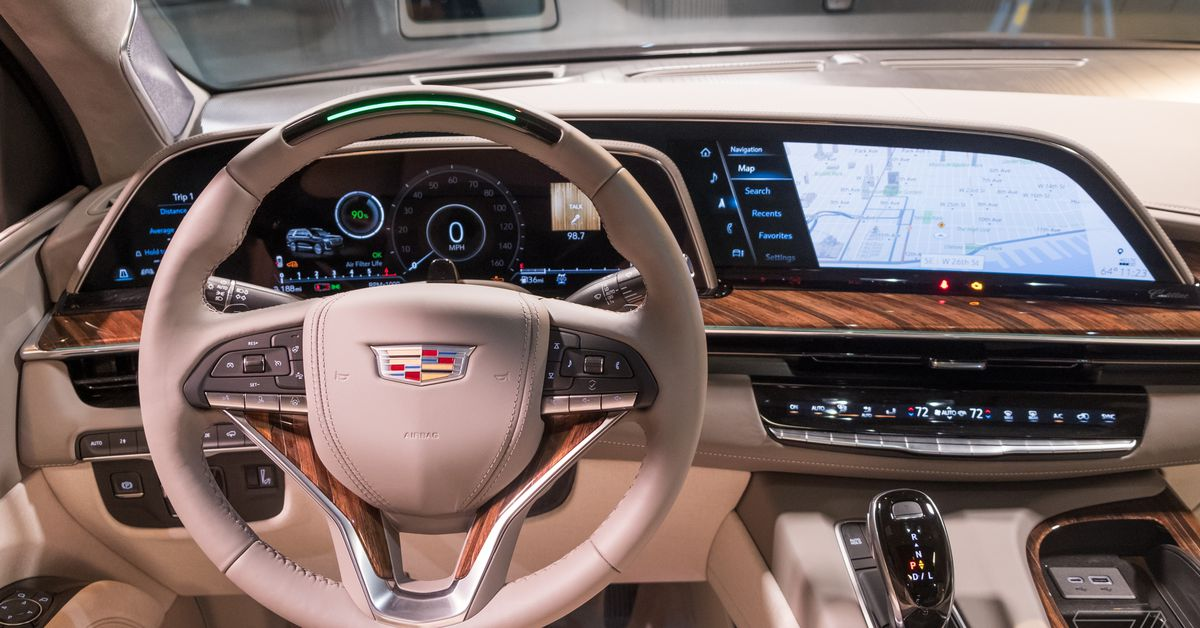 The 2021 Escalade's curved screens are a taste of what's to come