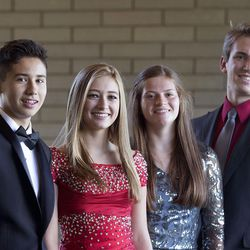 Violinists Jeremy David Lewis, McCall Andersen, Erika Hubbard and William Yavornitzky have been selected to perform in this year's Salute to Youth concert.