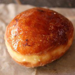 "Crème Brûlée doughnut by <a href=""http://www.flickr.com/photos/foodishfetish/7111706779/in/set-72157629530697360"">foodishfetish</a>"