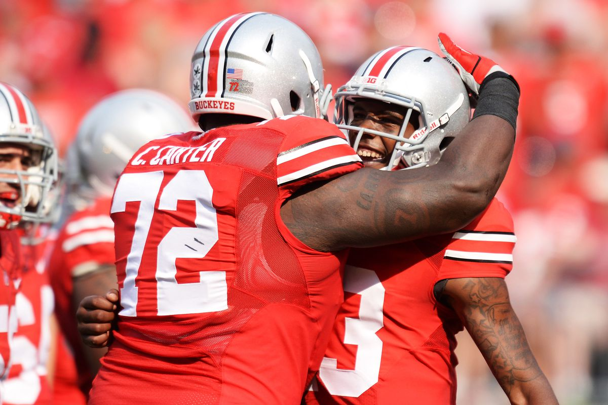Chris Carter will play his last games as a Buckeye in 2014 after deciding not to return in 2015.