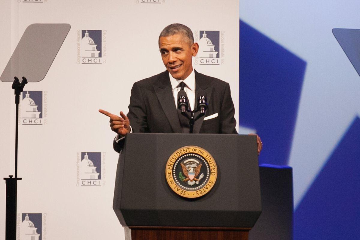 President Obama speaks in Washington, DC.