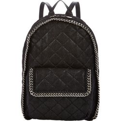 """Despite the name, <b>Stella McCartney's</b> """"quilted shaggy deer"""" backpack, <a href=""""http://www.barneys.com/on/demandware.store/Sites-BNY-Site/default/Product-Show?pid=00505033596082&cgid=BARNEYS&index=26"""">$1,595</a>, involves no deer (nor shag): Like all"""