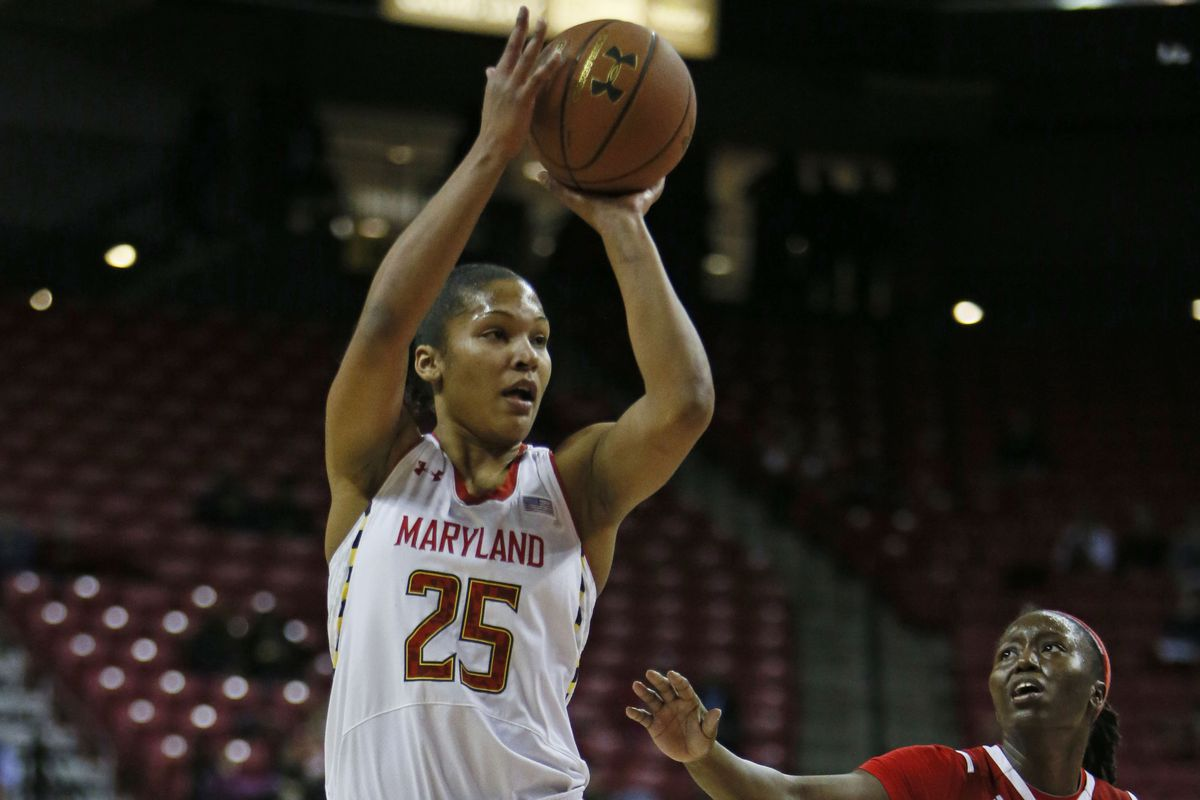 Alyssa Thomas' return from a nasty fall epitomized the heart Maryland has shown recently in the face of adversity.