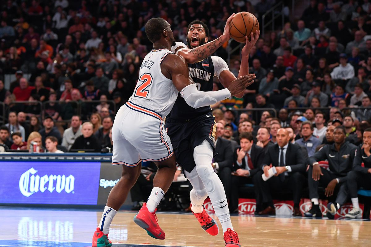 NBA: New Orleans Pelicans at New York Knicks