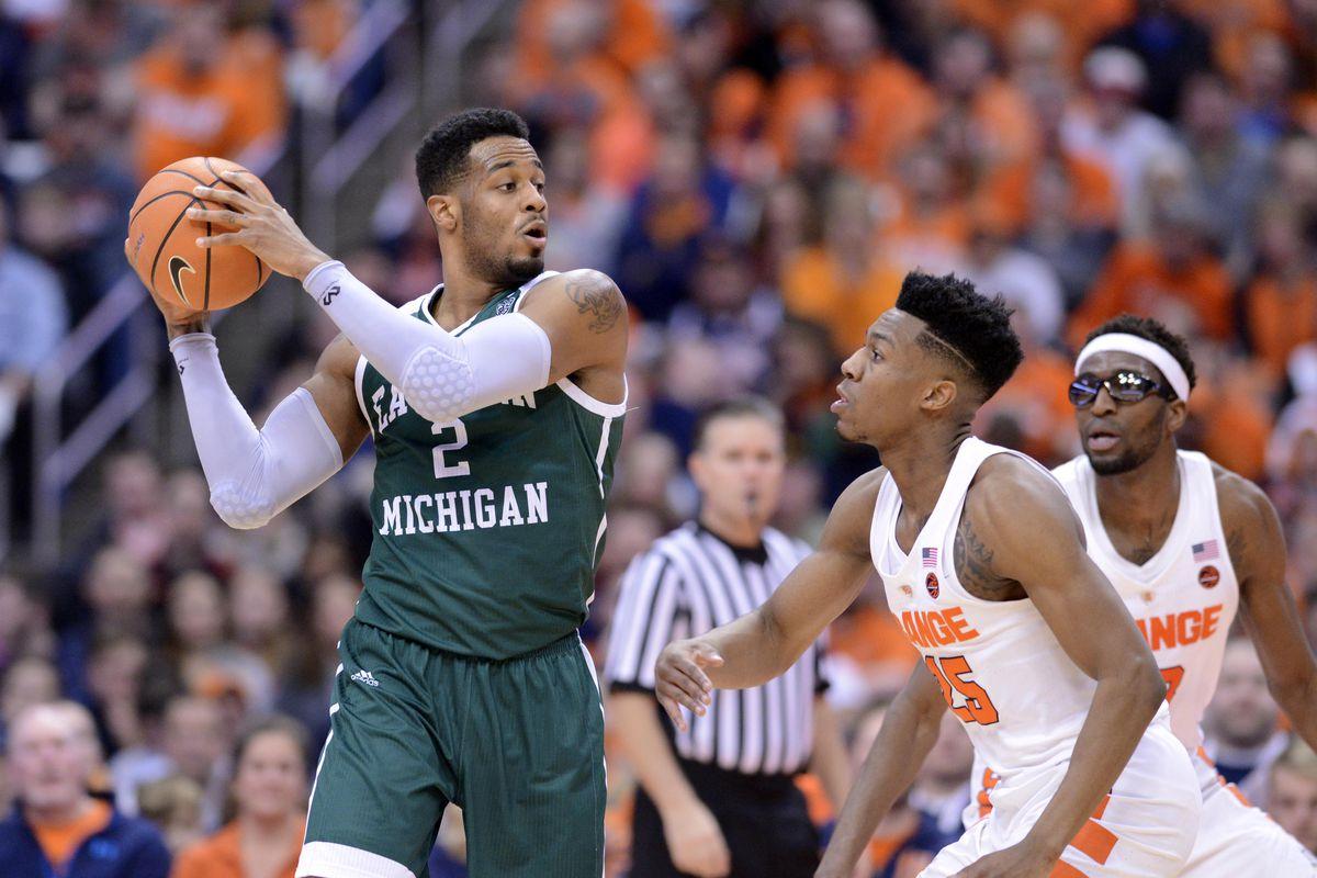 NCAA Basketball: Eastern Michigan at Syracuse