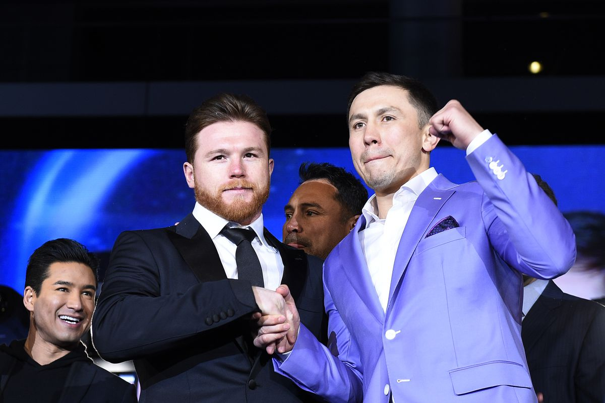 30a96b1054ebf9 Canelo vs Golovkin II  Press conference quotes - Bad Left Hook