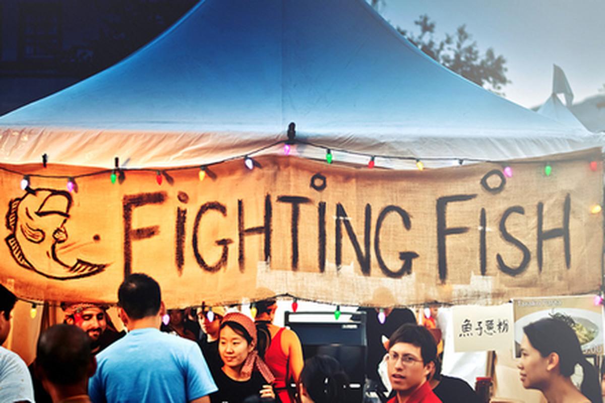 Scene from Pasadena's 626 Night Market.