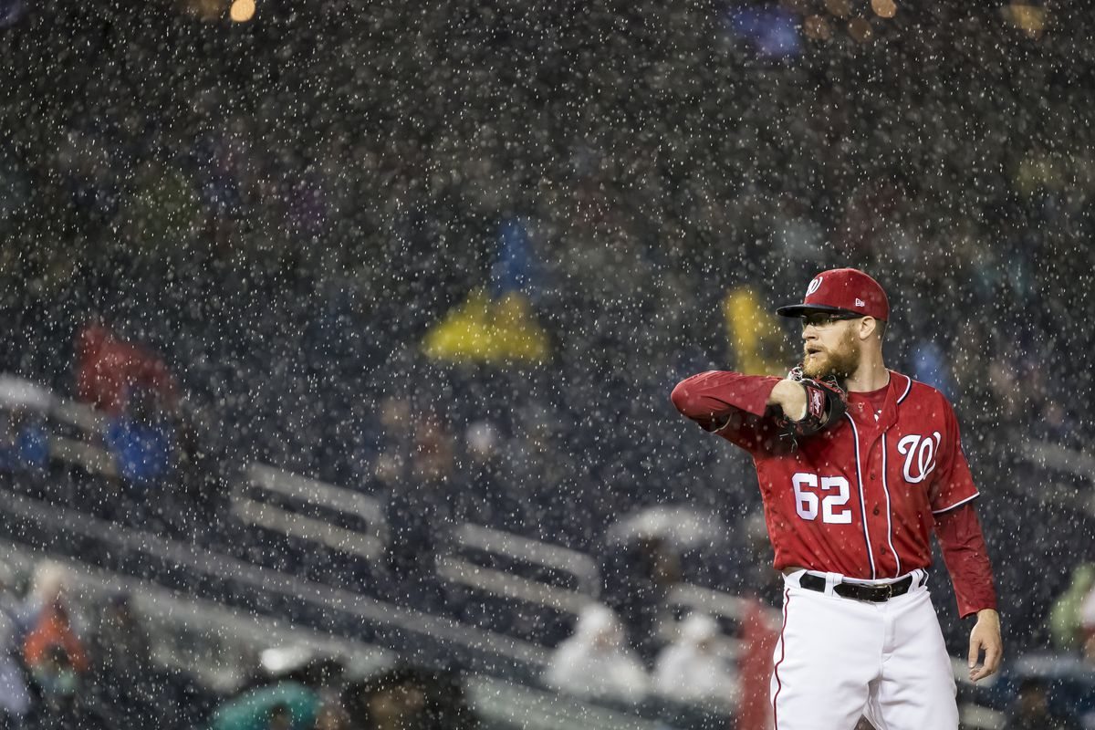 5721e4fba The Cubs and Nationals have had a rain-affected adventure - SBNation.com