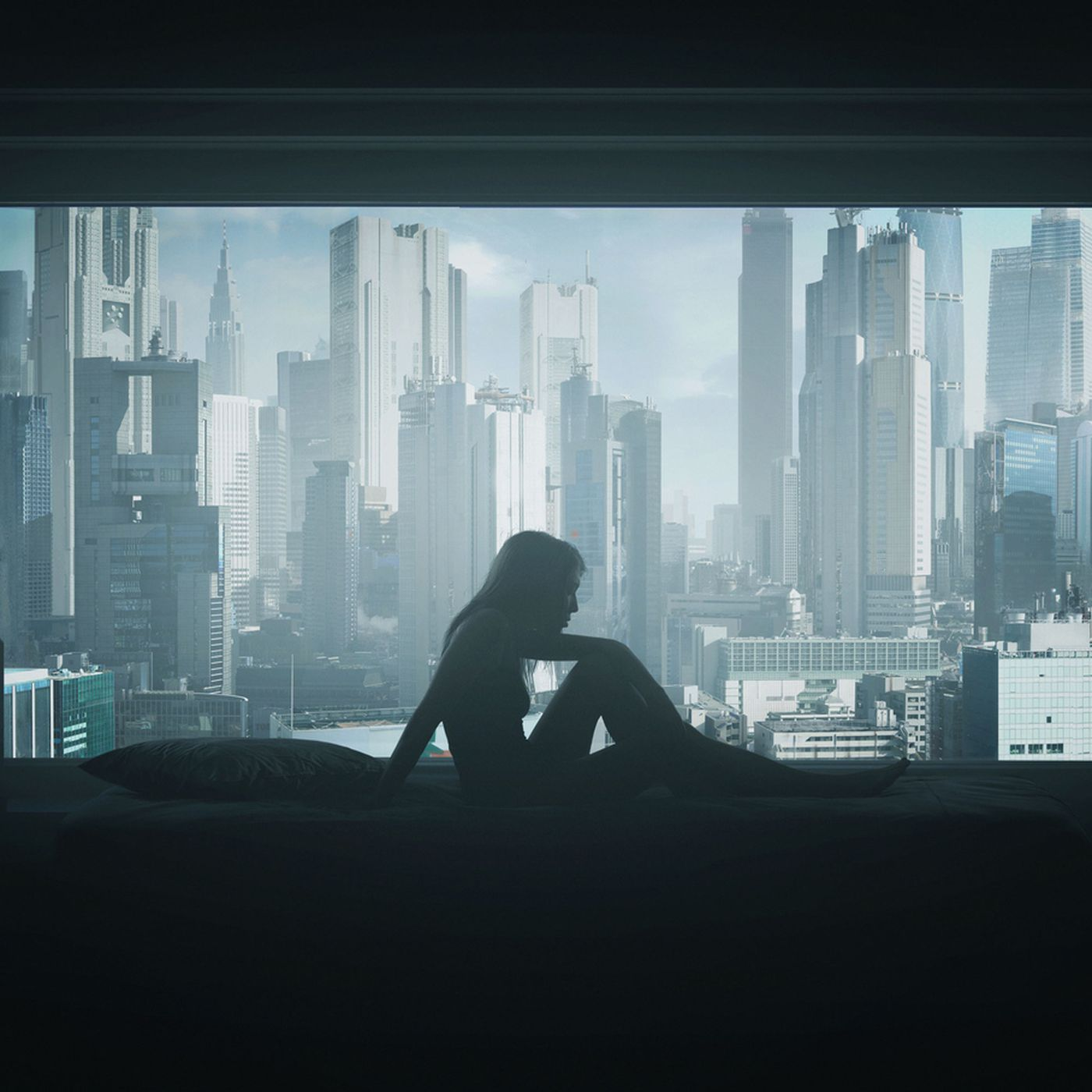 Ghost In The Shell Intro Recreated In Haunting Still Life The Verge