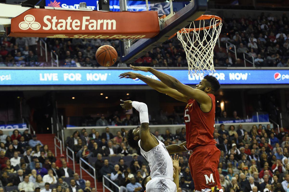 NCAA Basketball: Maryland at Georgetown