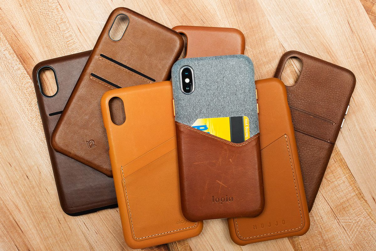 purchase cheap 970df aa032 Finding the best leather case for the iPhone X - The Verge