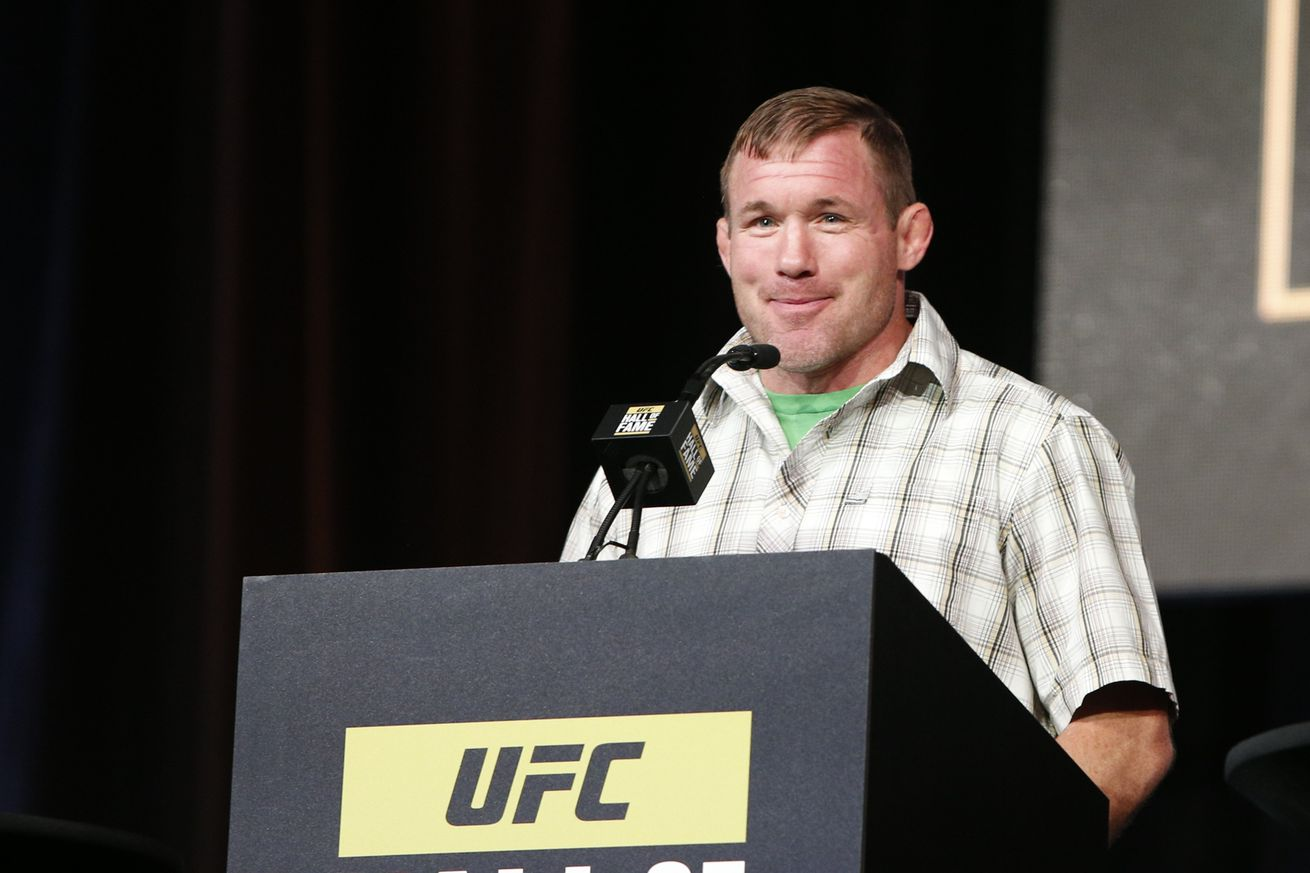 community news, Report: UFC legend Matt Hughes injured in truck accident