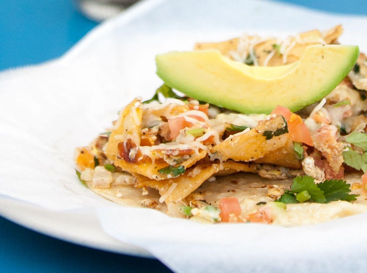 Veracruz All Natural's migas taco