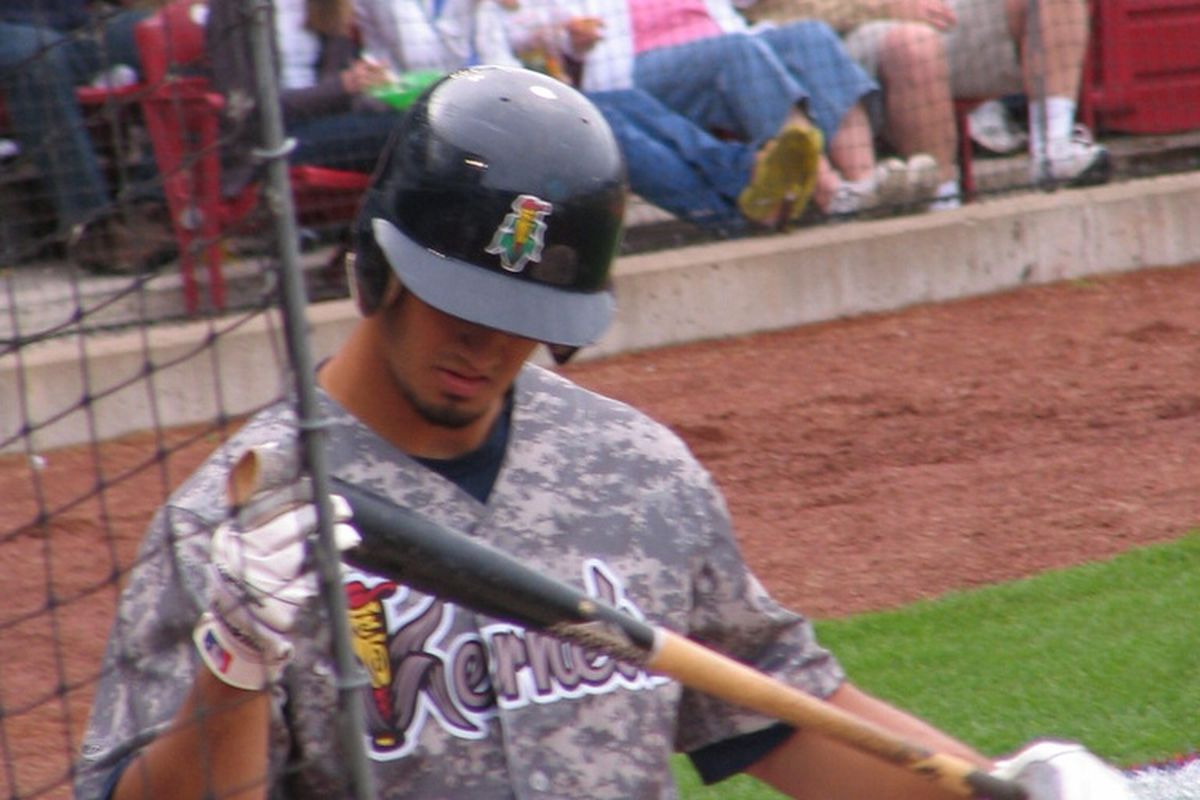 Kernals' first baseman Gabe Jacobo hit .444/.500/.889 against Peoria, helping to push Cedar Rapids to the next playoff round. Game One against the Burlington Bees begins tonight.
