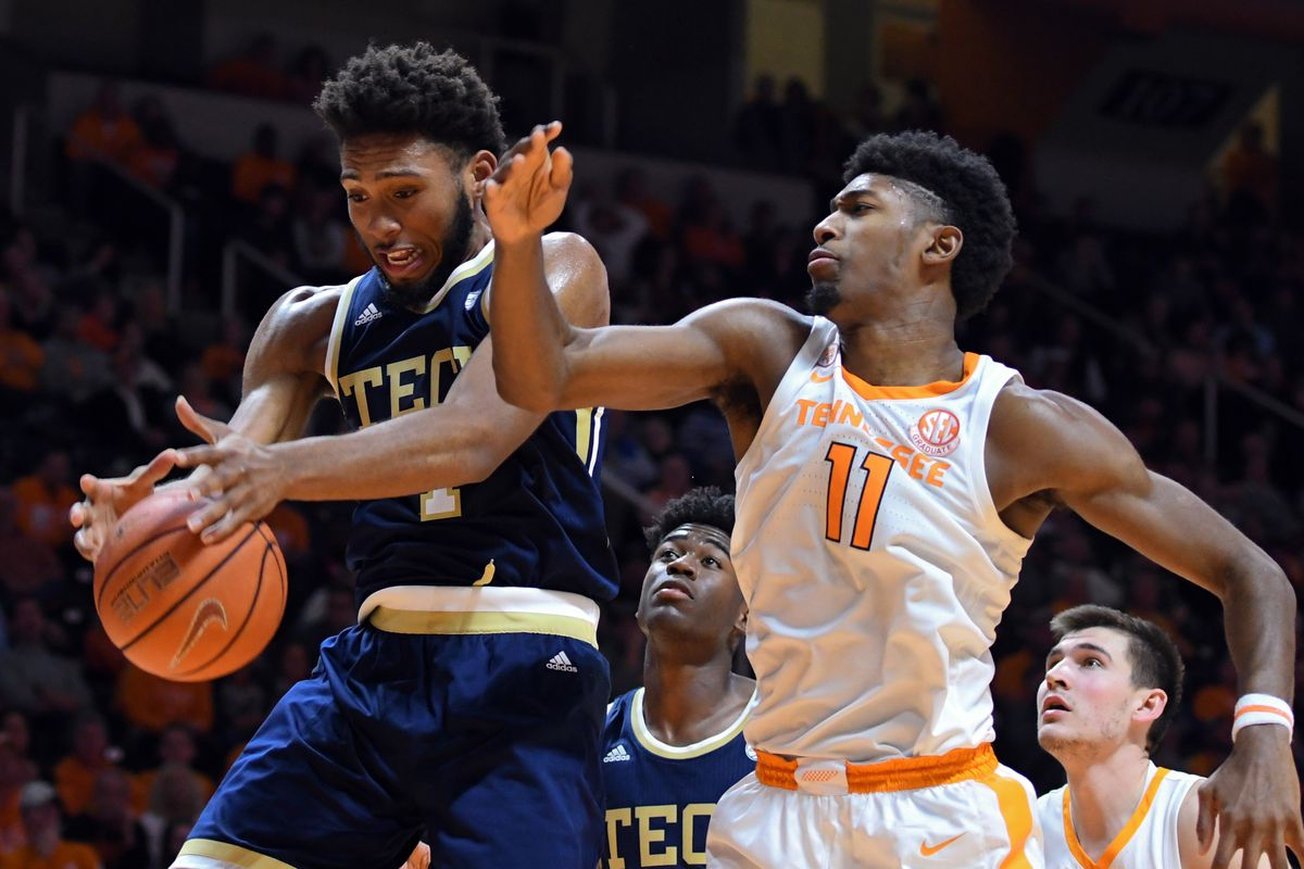 NCAA Basketball: Georgia Tech at Tennessee