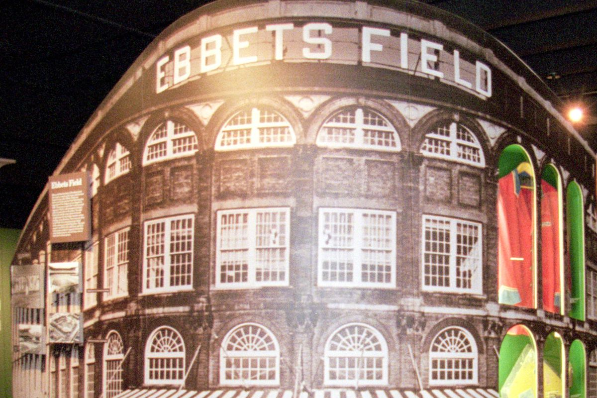 Miniature of Ebbets Field and Display