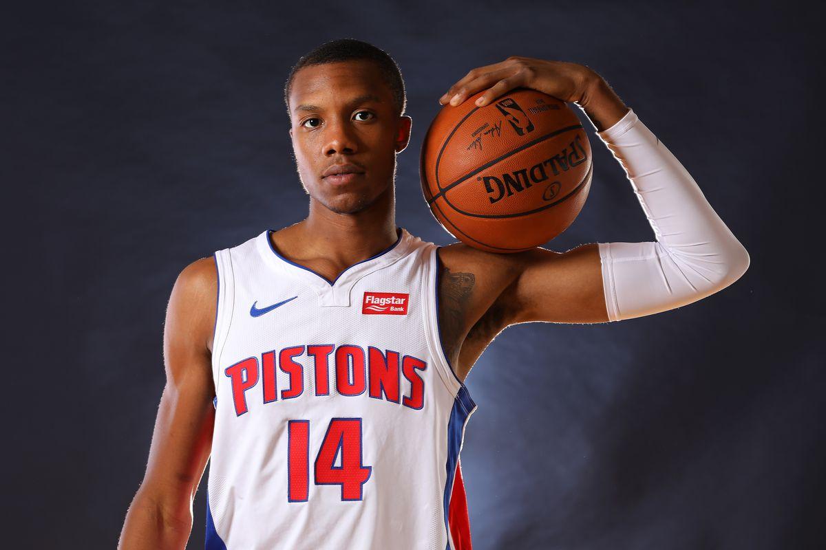 Detroit Pistons Media Day