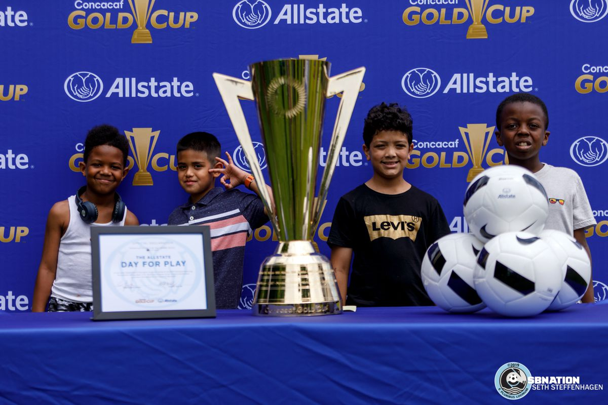 June 17, 2019 - Saint Paul, Minnesota, United States - Scenes from the Allstate Day For Play event on the lawn of the Minnesota State Capitol.