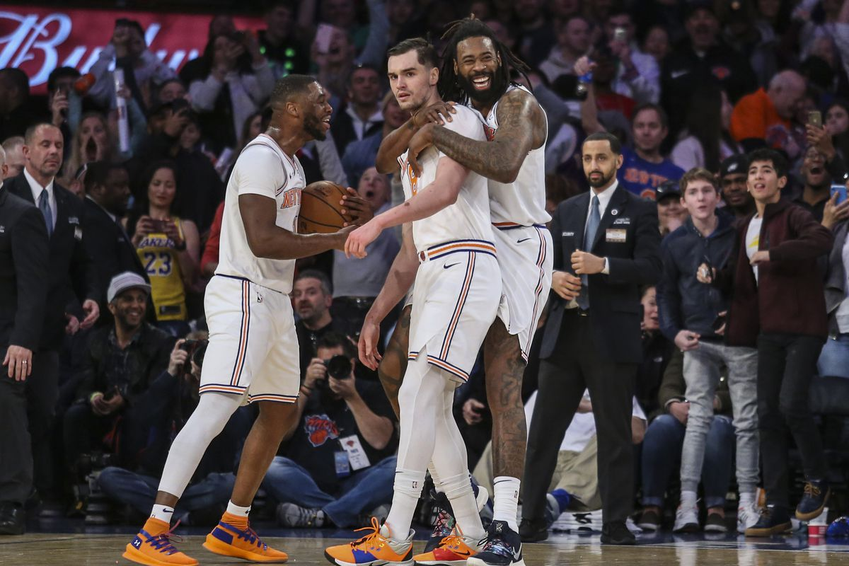 "Knicks 124, Lakers 123: ""Fuck the tank. That was spectacular."""