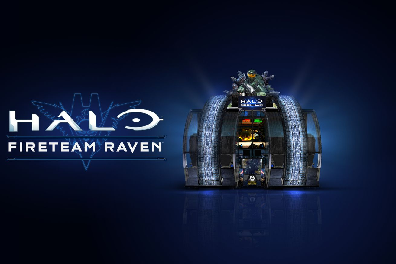 microsoft s halo arcade game is now deployed to dave busters across the us and canada