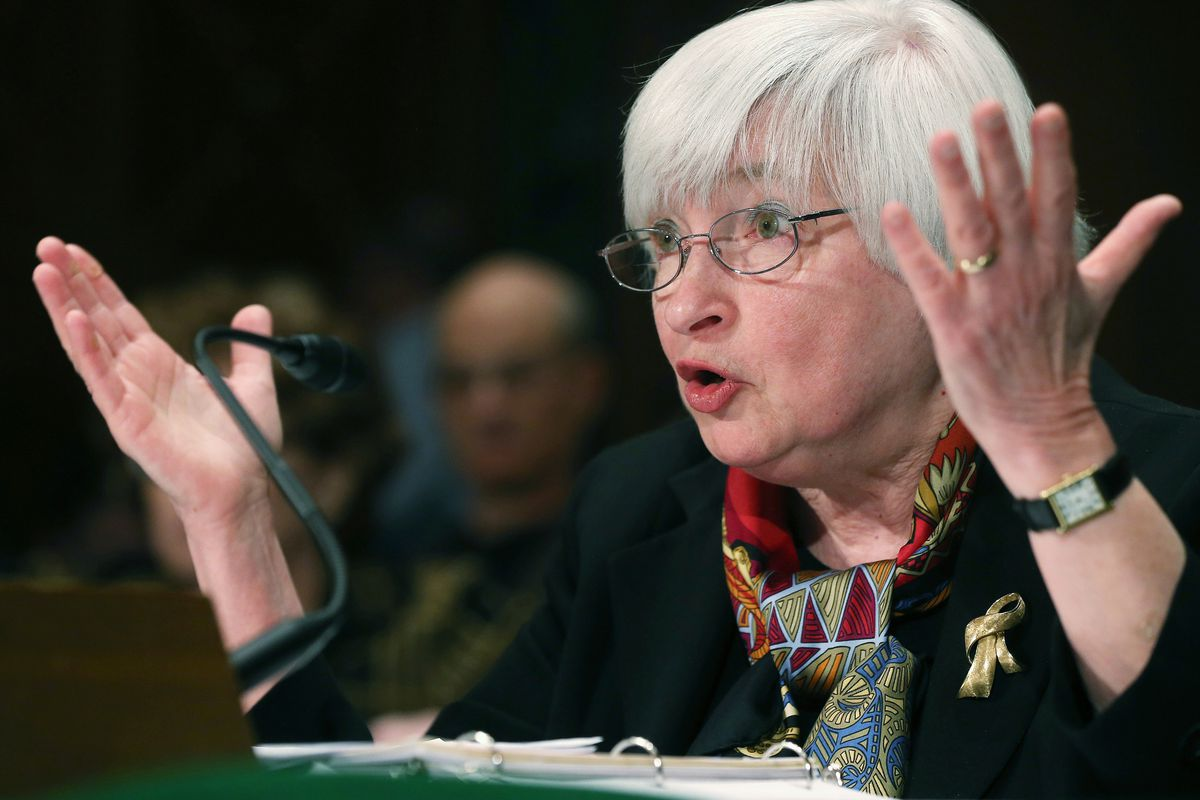 Federal Reserve Chair Janet Yellin