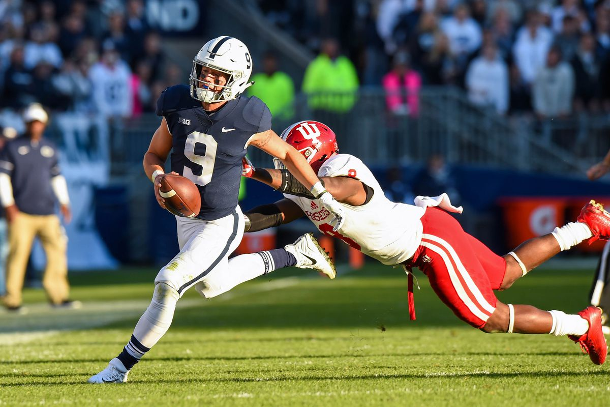 No 18 Penn State Nittany Lions Football At Indiana Hoosiers Game