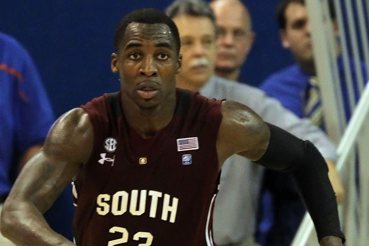 Bruce Ellington will lead the Gamecock basketball team once he returns from football duty.