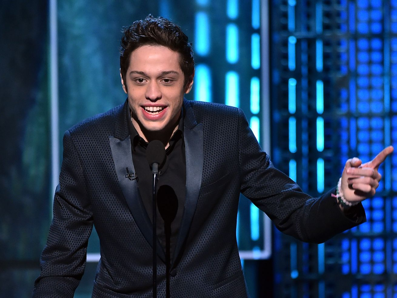 Pete Davidson Turned Up to a Sold-Out