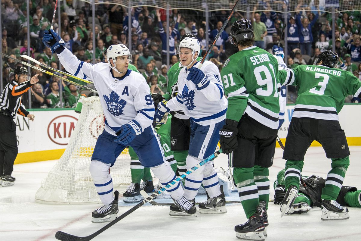 superior quality a9785 bfccb Leafs vs. Stars Preview: Back On Track and a New Third Pair ...