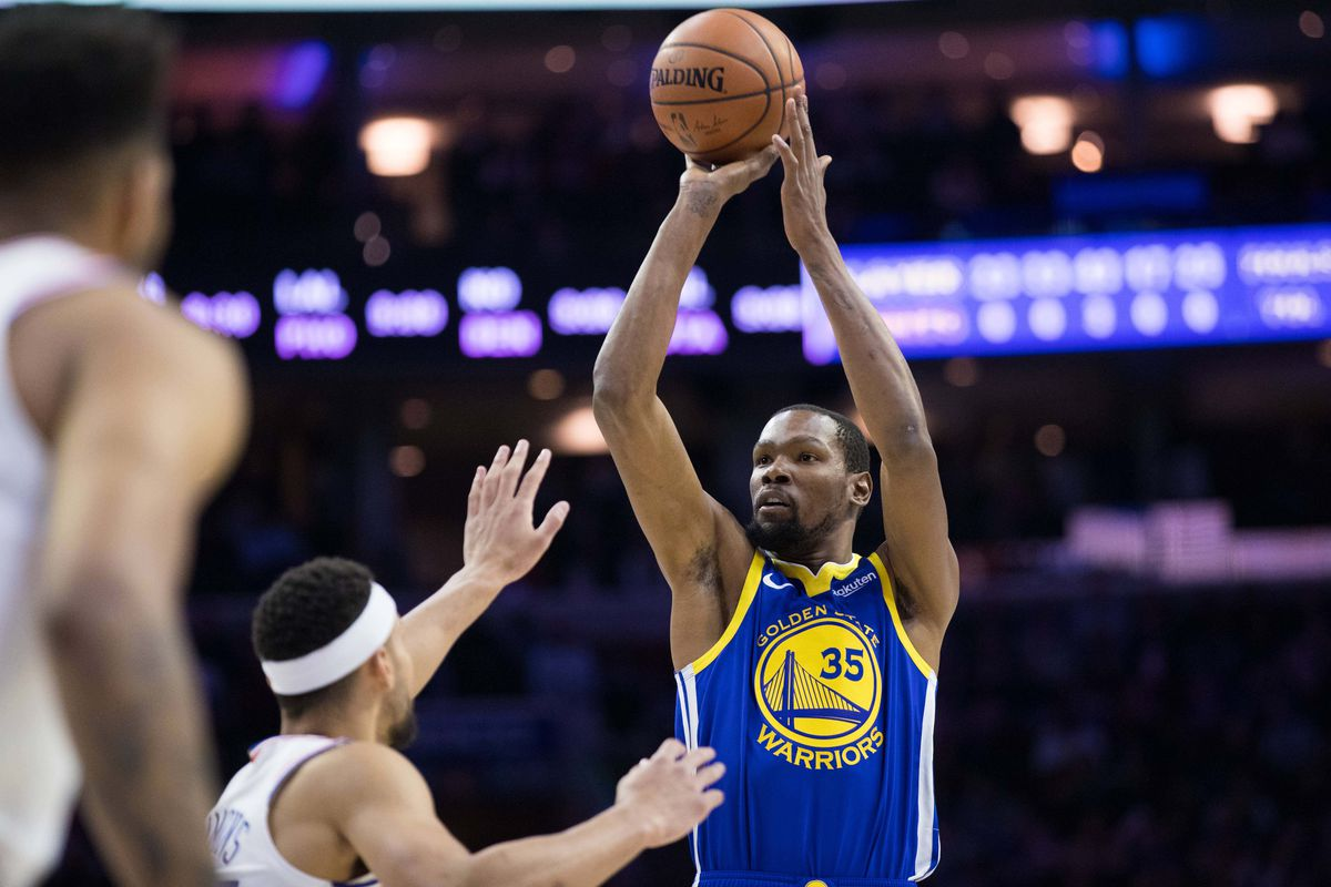 26a3f65b8 Kevin Durant had a big game against the Sixers and will now host Kyrie  Irving and the Celtics. Bill Streicher-USA TODAY Sports