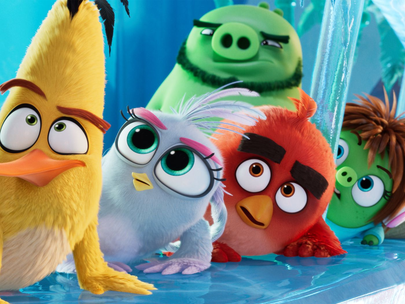 Movie Review Zany Angry Birds Movie 2 Is A Crash Course In Sophisticated Slapstick Deseret News