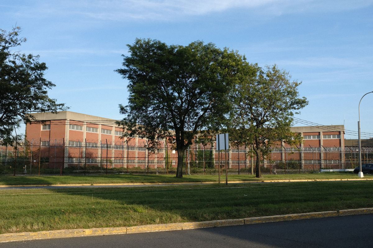 A jail facility on Rikers Island, Sept. 27, 2021.