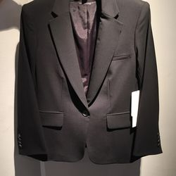 Stock jacket, $295 (would be $600 without dickey)