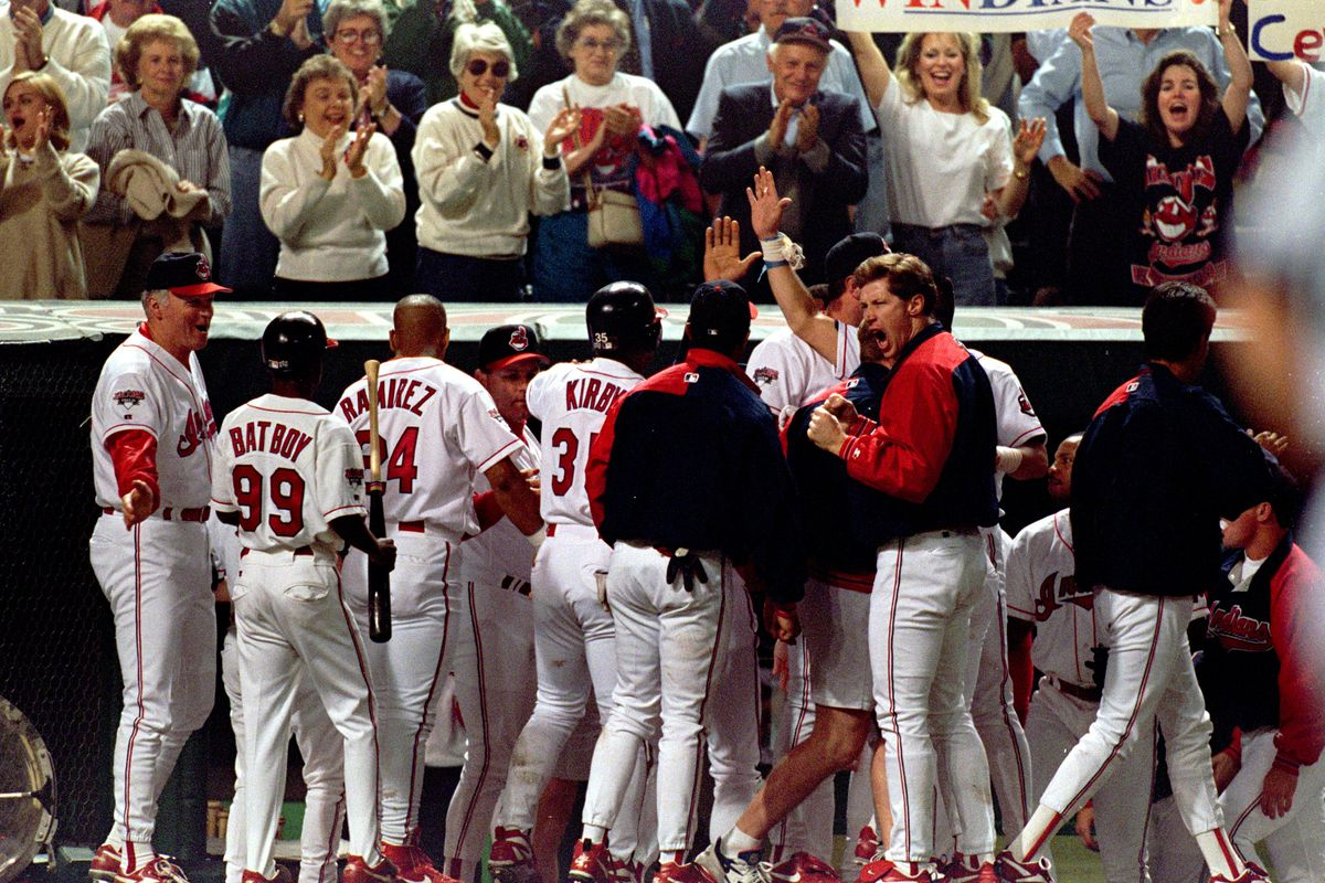 The Tribe dugout had a lot to celebrate in 1995.