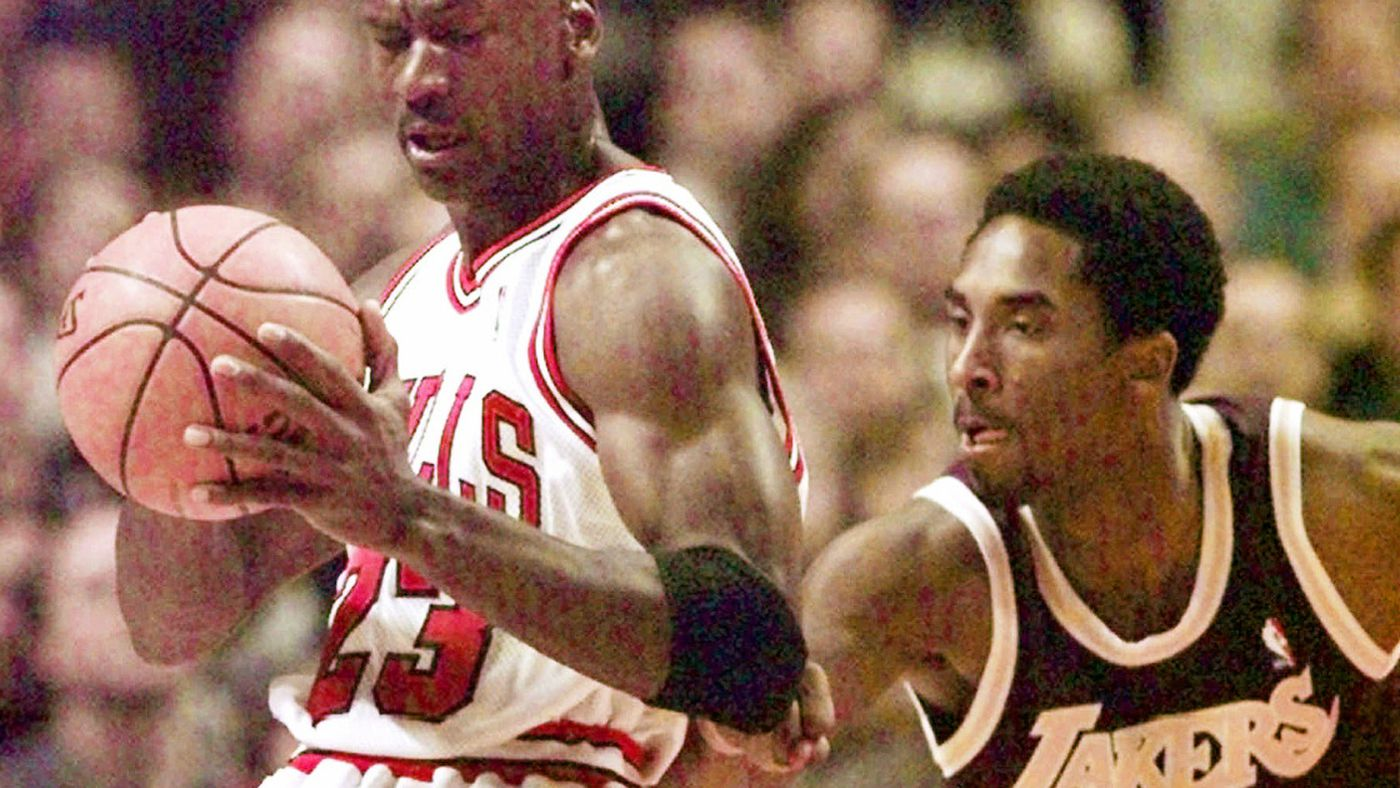 1c669a169ce Kobe Bryant thought he would  destroy  Michael Jordan in 1st meeting -  Chicago Sun-Times