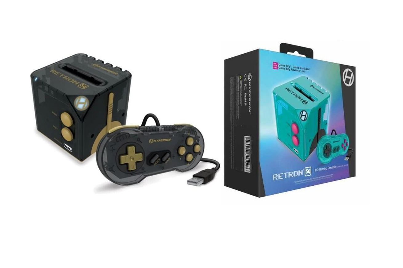 RetroN Sq is a cube-shaped console for playing Game Boy titles on your TV