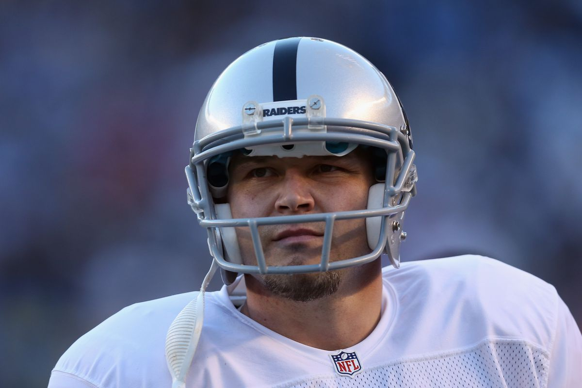 Sebastian Janikowski says thank you to Raiders 107bed0b3