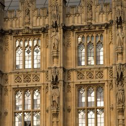 UVU President Matt Holland spoke to a parliamentary group at The Palace of Westminster about the way his school pairs vocational education and academic education, on Monday, July 10, 2017.